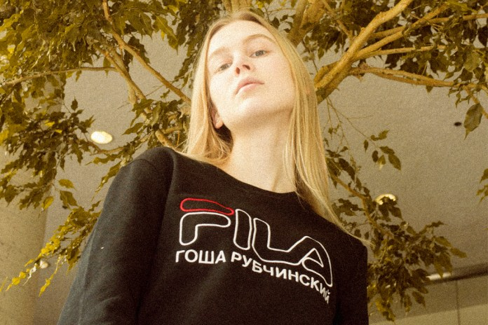 The Gosha Rubchinskiy x FILA Collection Is Now Available at U.S. Retailers