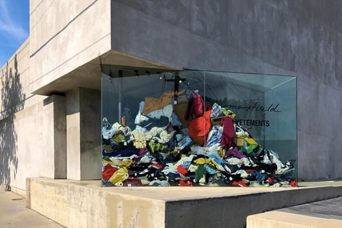 """Take a Look Inside Vetements' """"DRY CLEANING"""" Pop-Up at Maxfield Los Angeles"""