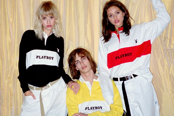 Playboy x JOYRICH Throw Back to the '90s with a 2017 Spring/Summer Collaboration