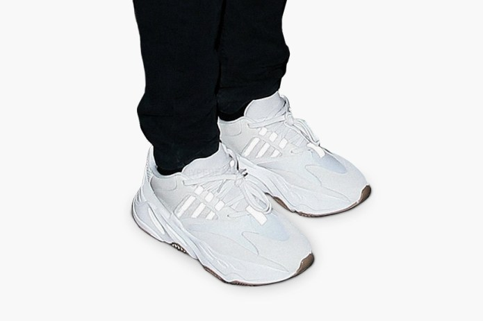 Kanye West Debuts Another Yeezy Runner in All White