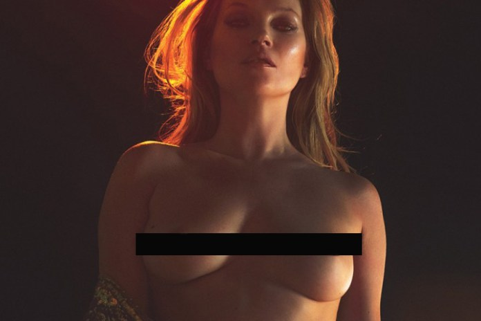 Kate Moss Is Naked, Proud and 42 on 'W' Magazine's March Issue