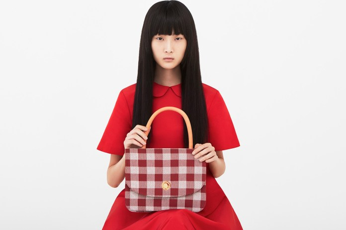 Mansur Gavriel's 2017 Spring/Summer Campaign Is Fiery Red and Plaid