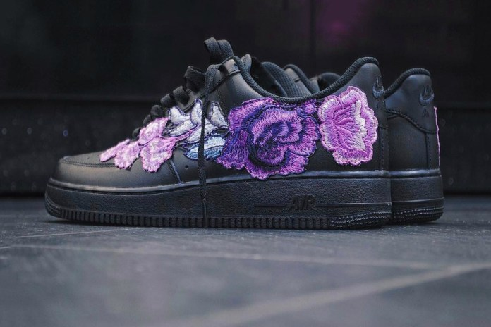 "There's Purple Love on This Nike Air Force 1 ""Flowerbomb"" Beaut"