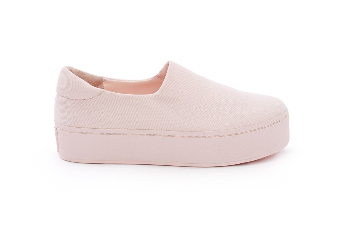 Fall in Love With Opening Ceremony's Baby Pink Cici Platform Slip-Ons