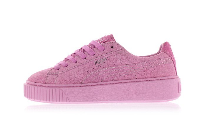 The All-New PUMA Basket Platform Sings an Ode to Pink