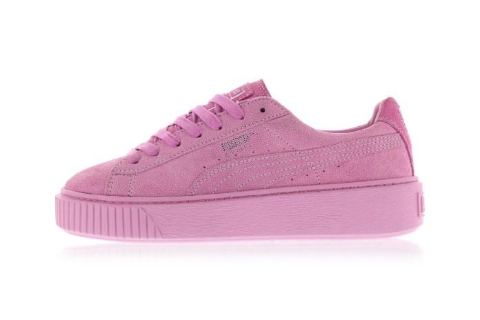 Puma Basket Platform Pink