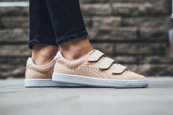 """PUMA Gets Ready for Spring with Its New Basket Strap """"Natural Vachetta"""""""