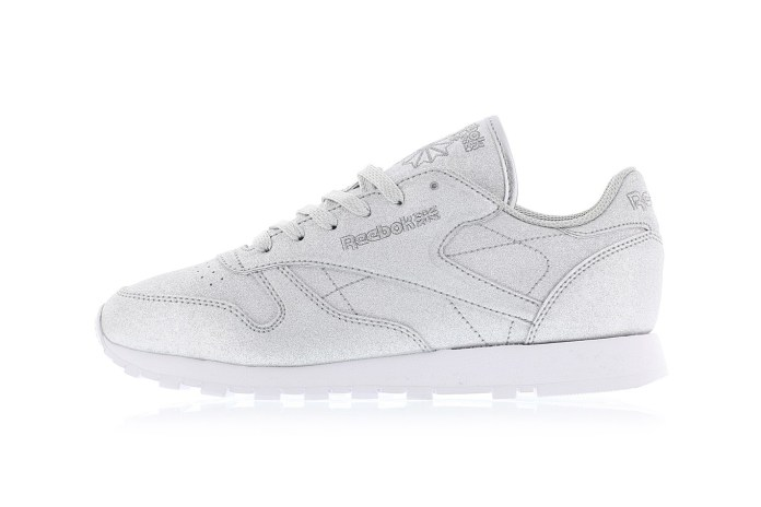 """Reebok Loads the Classic Leather """"Diamond"""" Pack With a Silver Bullet"""