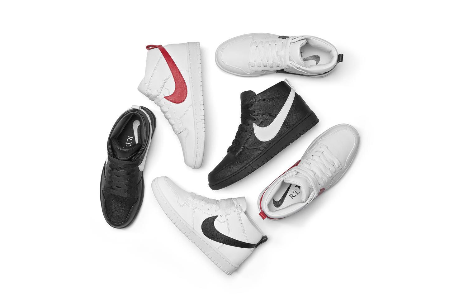 Riccardo Tisci NikeLab Dunk Lux Chukka Bella Hadid
