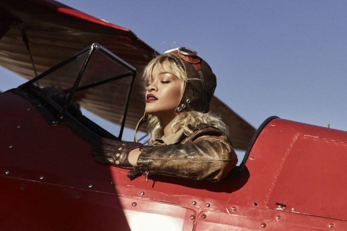 Rihanna Soars Sky High on the Cover of 'Harper's Bazaar'