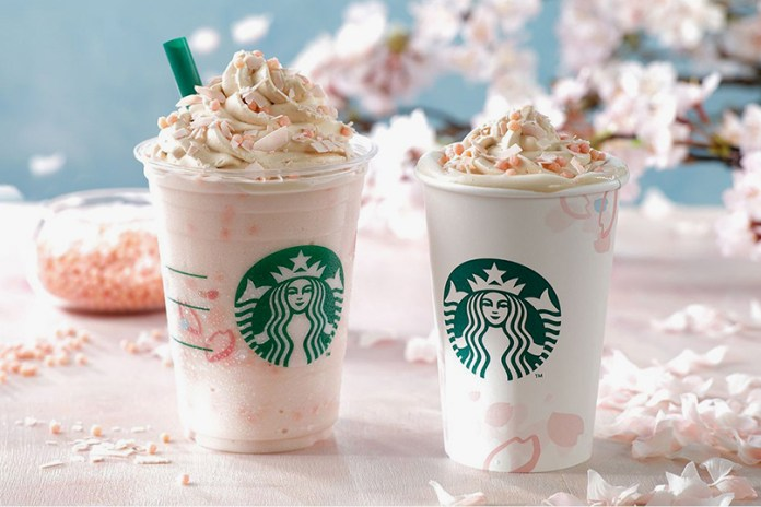 Starbucks Japan Introduces New Cherry Blossom Drinks Just in Time for Spring