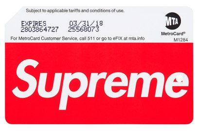 ALERT: Supreme's Limited-Edition MetroCards Are Now for Sale at Subway Stations