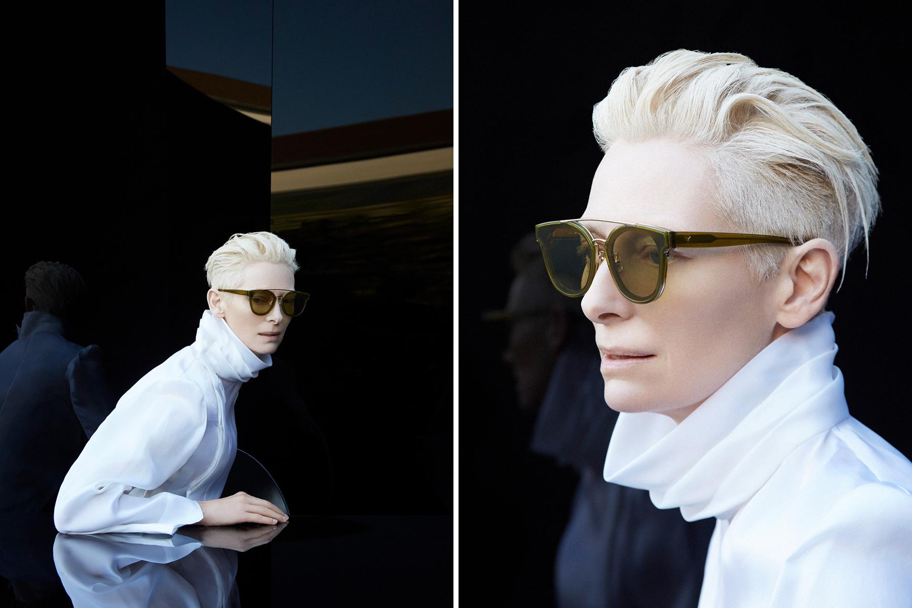 Tilda Swinton Gentle Monster Eyewear Collaboration