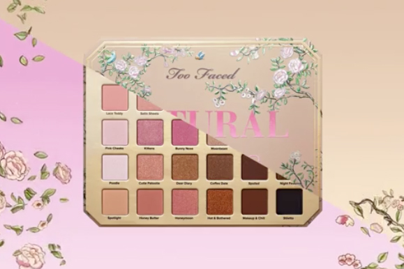 Prepare to Swoon Over Too Faced's Natural Love Eyeshadow Palette
