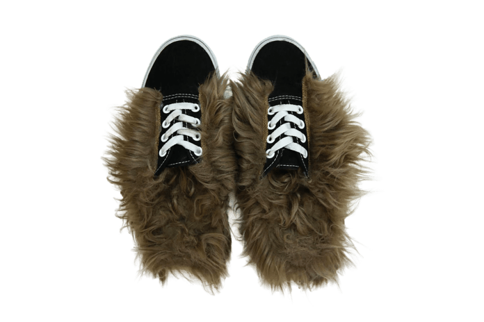 These Vans Are Inspired by Gucci's Fur Slippers – and They're Everything
