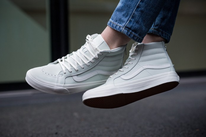 The Vans Sk8-Hi Zips That Look White – Only They're Not