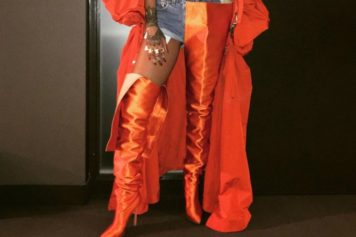 Vetements x Manolo Blahnik's Insane Thigh-High Boots Are Arriving at Net-A-Porter