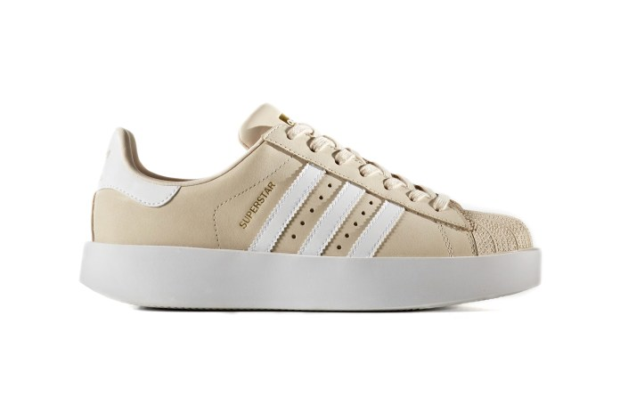 The All-New adidas Originals Superstar Bold Is Nude and Minimalist
