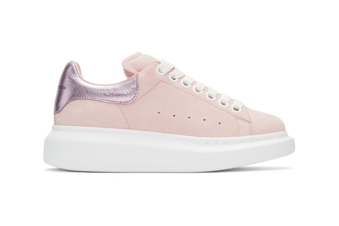 Alexander McQueen's Oversized Sneakers Have a Big Sole But Pink Soul