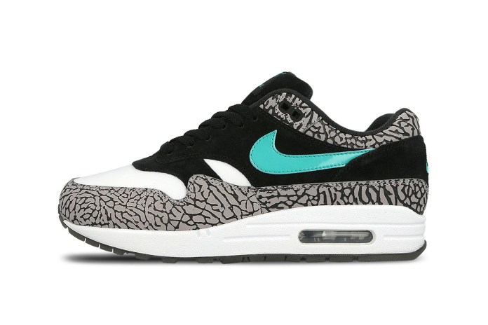 "A Sneaker Boutique Is Giving Women First Priority to Get Nike's Air Max 1 ""atmos Elephant"""
