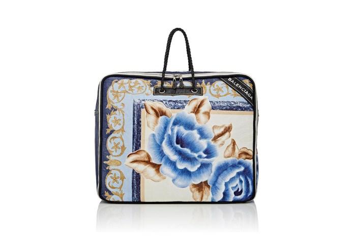 Demna Gvasalia Dropped a Balenciaga Blanket Bag — Seriously