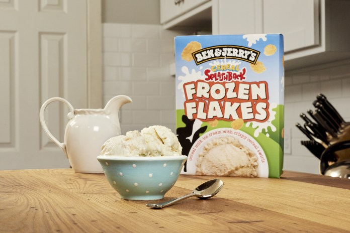 Ben & Jerry's Cereal-Flavored Ice Cream Is Now a Thing – and We're Obsessed