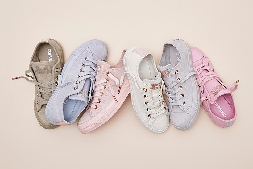 Converse All Star Low Office 2017 Spring Blossom Pack Pastel Pink - 98030