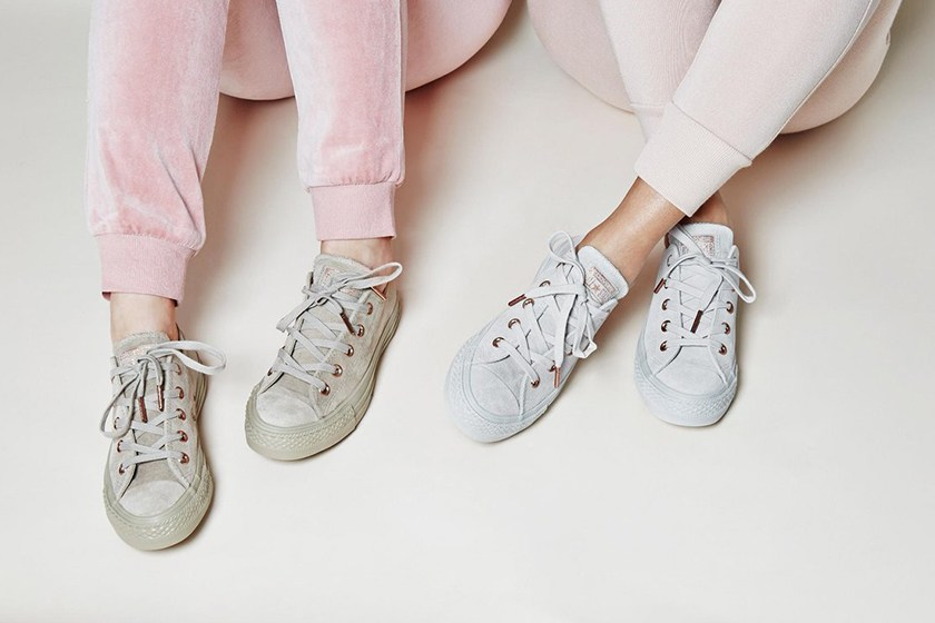Converse All Star Low Office 2017 Spring Blossom Pack Pastel Pink - 98032