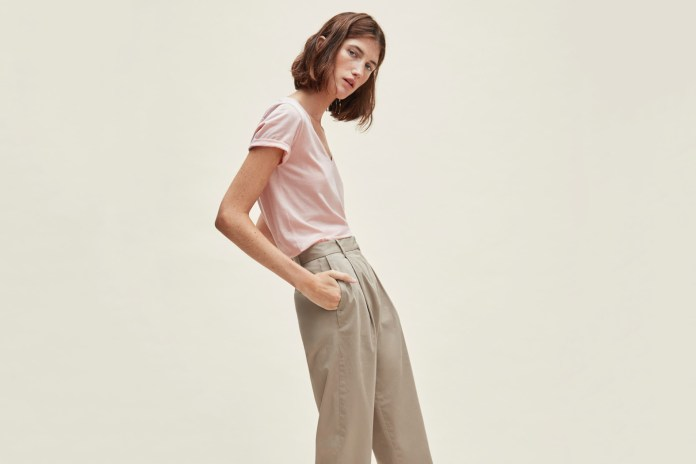 Everlane Introduces the Perfect Chino Pant Just in Time for Spring
