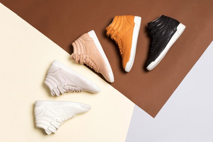 FACE Stockholm's Reebok Freestyle High Pack Is Neutral and Righteous