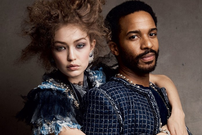 Gigi Hadid Poses With the Next Generation of Male Broadway Stars
