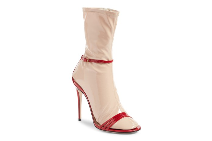 OMG, These Gucci Heels Come with Built-In Latex Socks