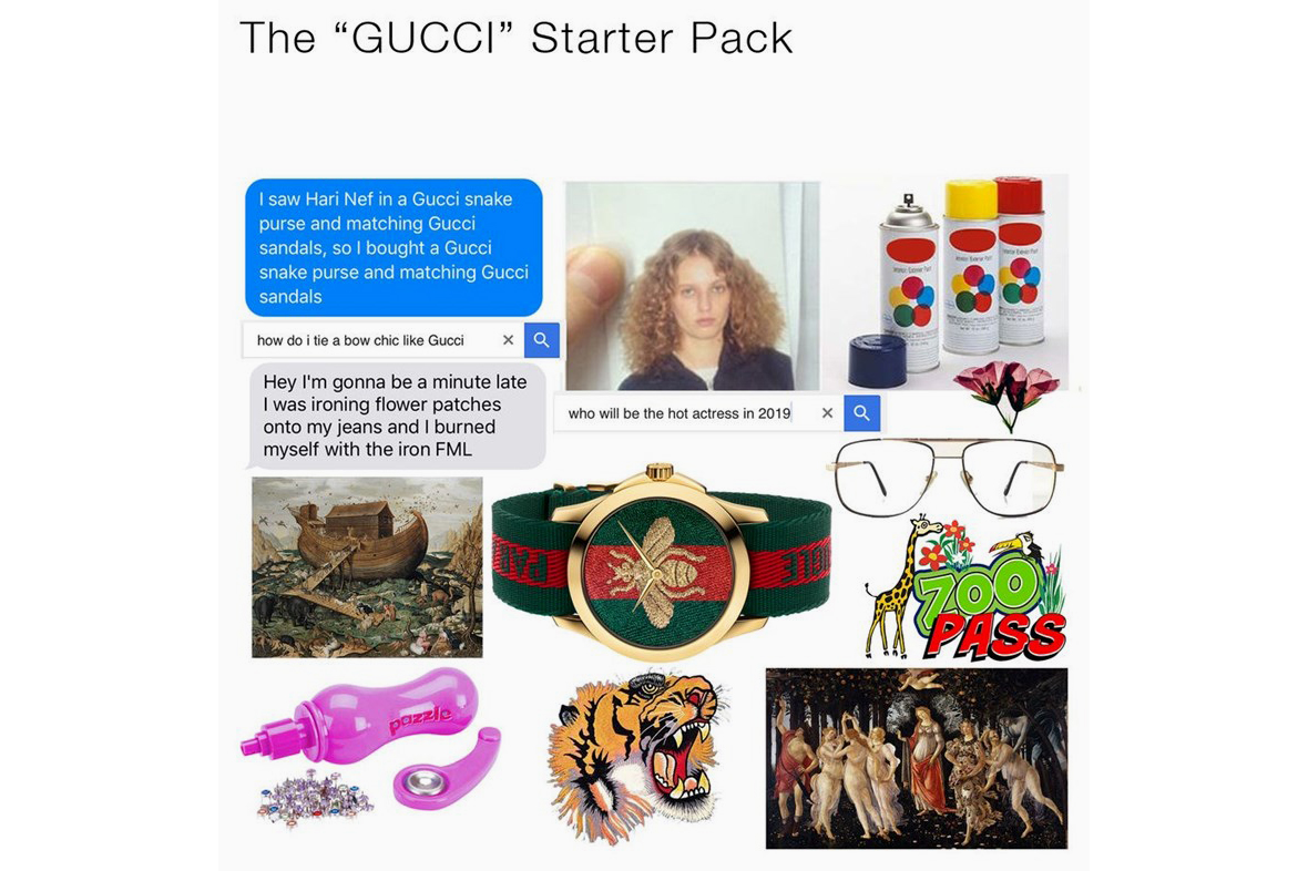 Gucci Memes Watch Collection - 100114