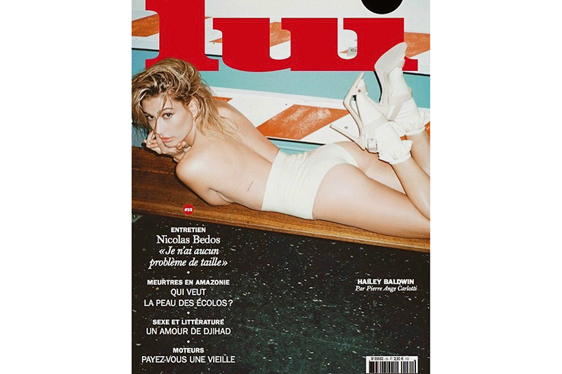 Hailey Baldwin Lui Magazine 2017 March Cover