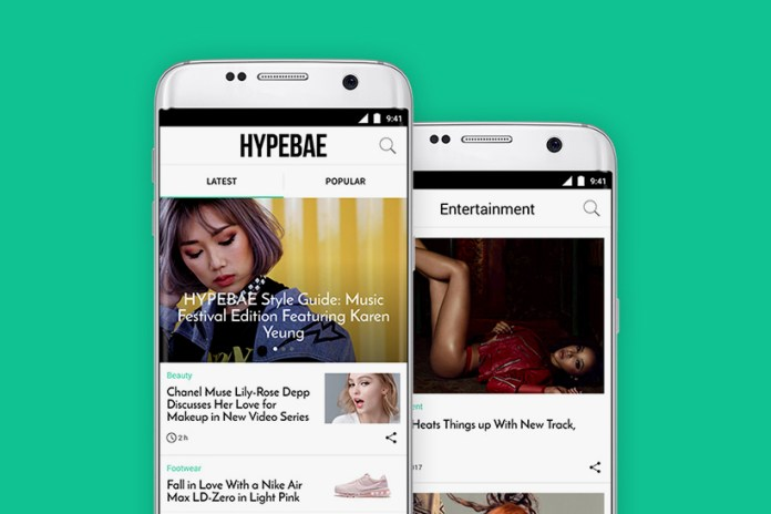The HYPEBAE App Is Now Available on Android