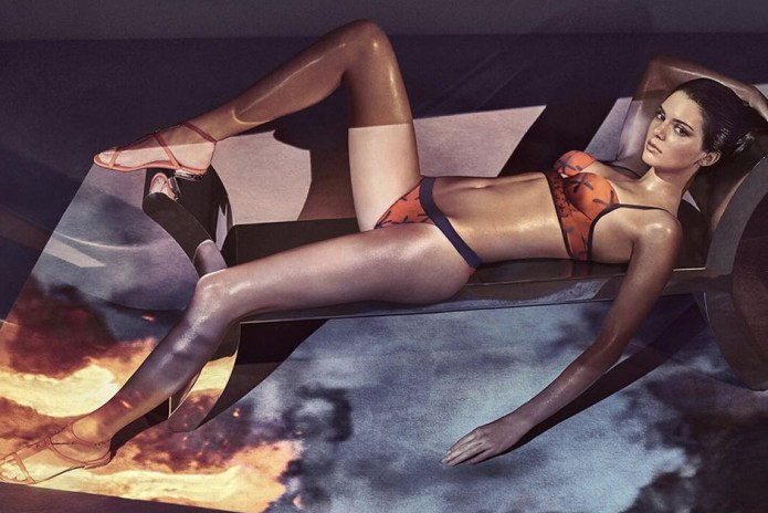Kendall Jenner Takes It Off in 2017 Spring/Summer La Perla Campaign