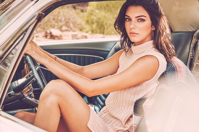 Kendall Jenner Goes on a Road Trip for Penshoppe's 2017 Spring/Summer Campaign