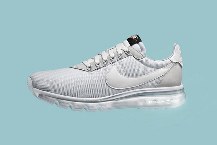 "Nike Drops an Ultra Sleek Air Max LD-Zero ""Light Grey"""