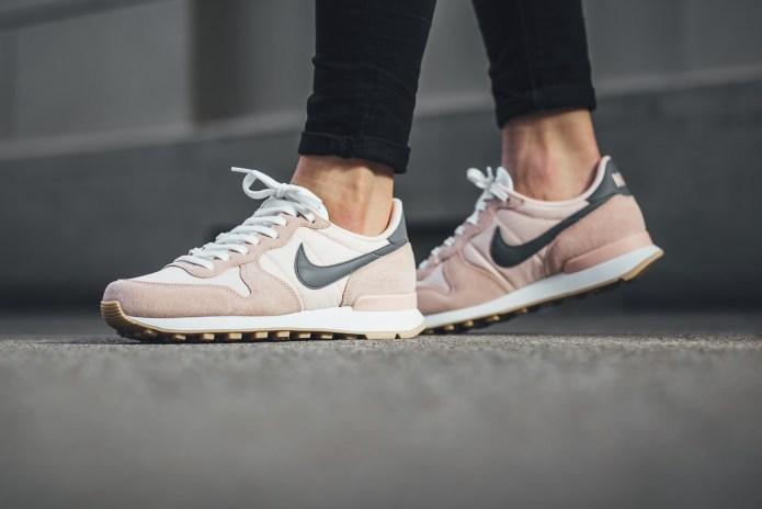 Take a Light Pink Stab on a New Nike Internationalist