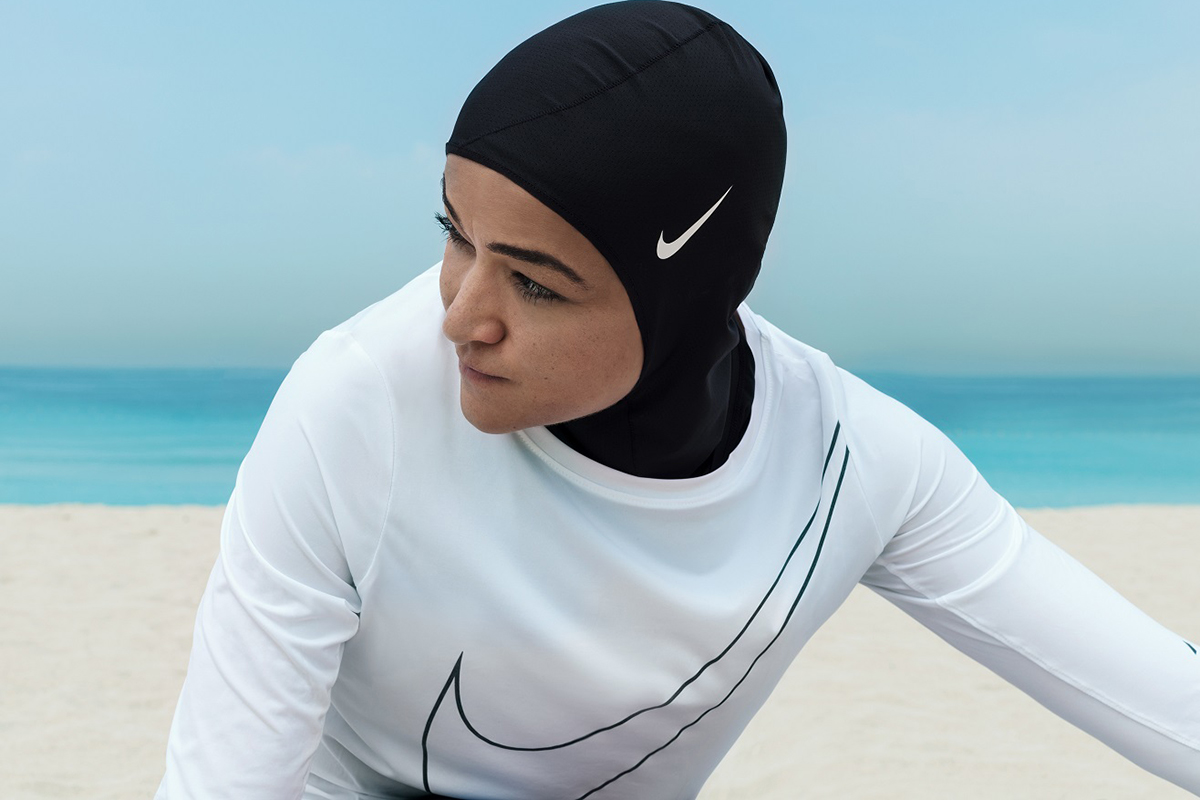 Image result for nike hijab