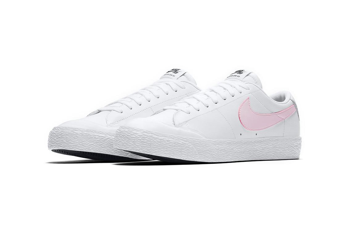 Nike SB Blazer Low XT White Prism Pink - 99938