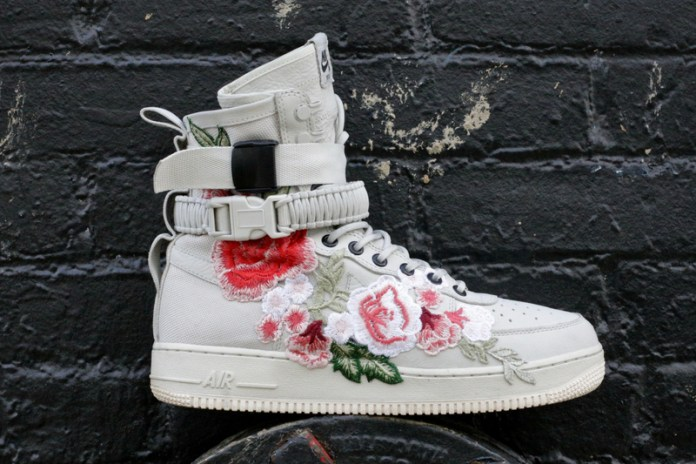 "Nike's Special Field Air Force 1 Is Next to Get The ""Flower Recon"" Treatment"