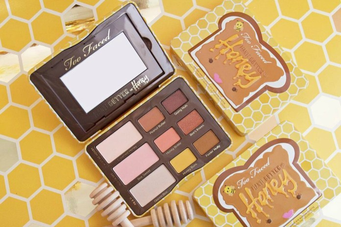 Too Faced's Peanut Butter and Honey Eyeshadow Palette Is Finally Here