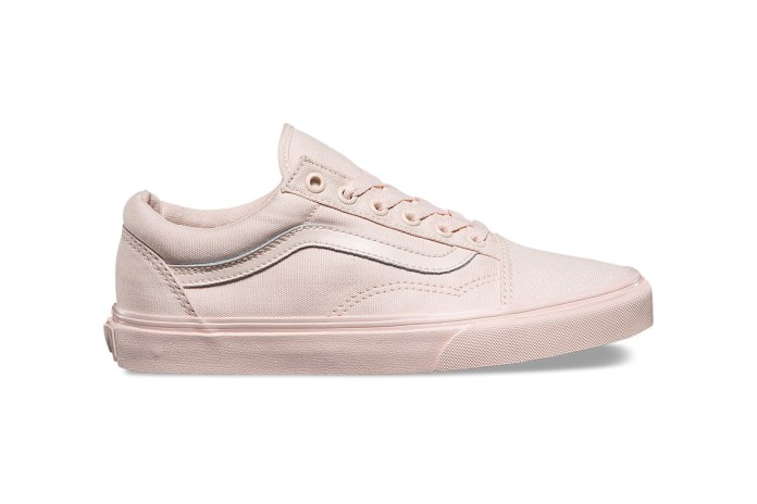 "Vans Stocks up on Spring's Most Darling Pastels Like ""Blush"" and ""Milky Green"""