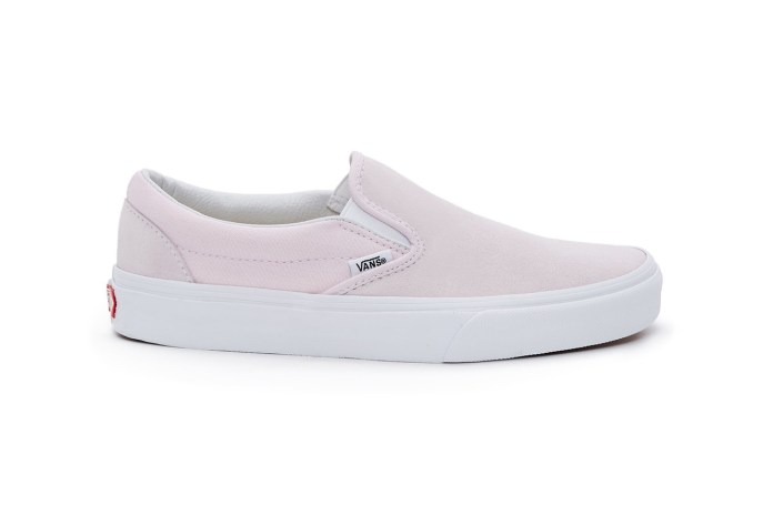 Vans Dips the Slip-On in Light Pastels to Make One Minimalist Pack