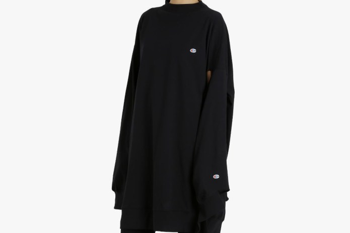 Vetements x Champion Took the Oversized Sweater to the Extreme