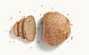 Brotlaib Landkorn Dinkel-Emmer aufgeschnitten