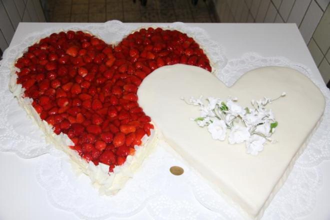 Austen-Erdbeerherz