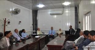 قسم اللغة العربية في كلية التربية الأساسية يقيم حلقة نقاشية علمية لعدد من أساتذته
