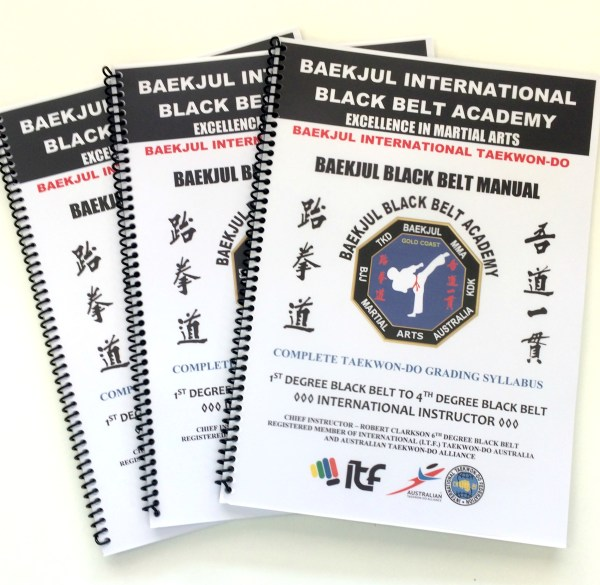 1st – 4th Degree Black Belt Syllabus
